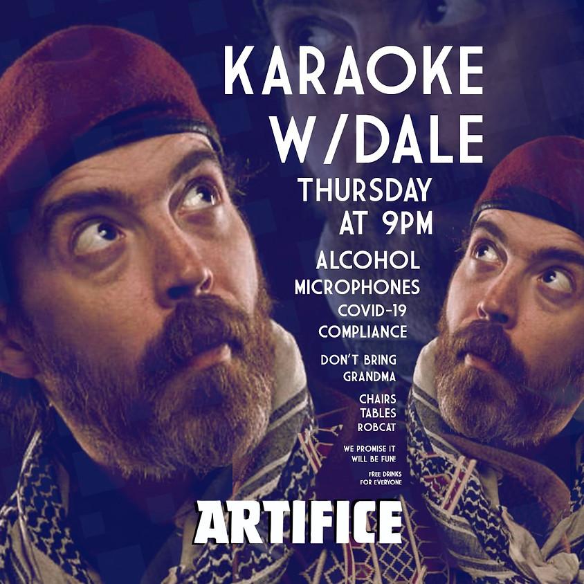 Karaoke at Artifice!