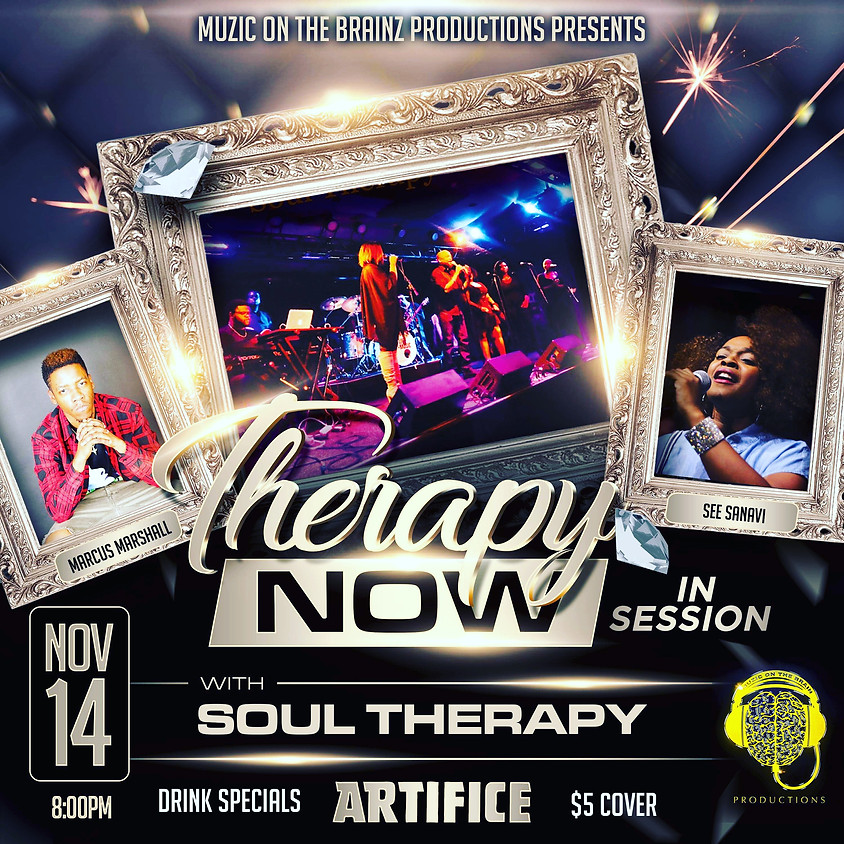 Therapy Now with Soul Therapy!
