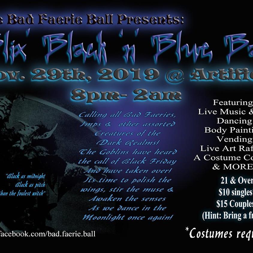 Bad Faerie Ball: Blix' Black 'n' Blue Ball