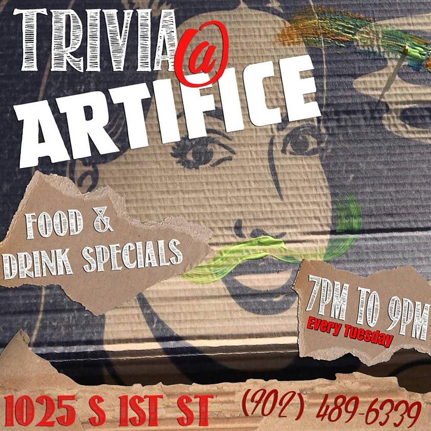 Trivia Lite Tuesdays: Trivia Night at Artifice!