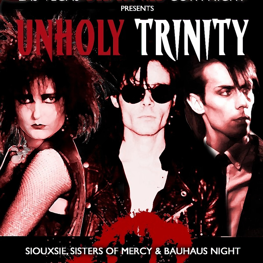 Goth Night Pop Up - Unholy Trinity Tribute