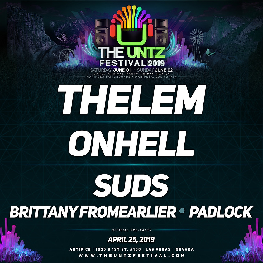 Sea Legs: Untz Festival Preparty w/Thelem, onhell, and SuDs