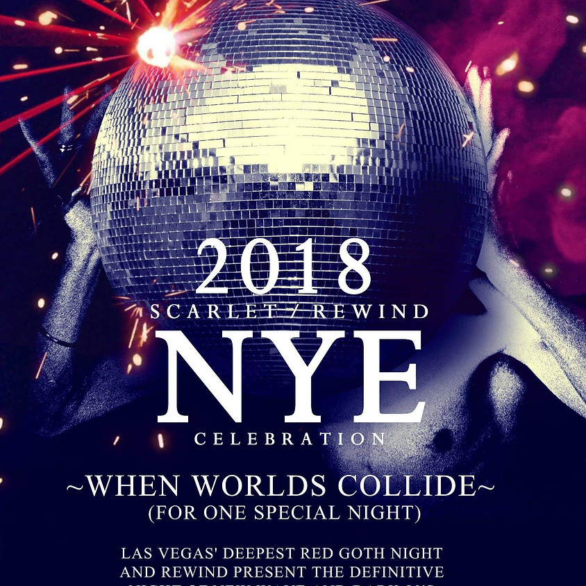 NYE Party at Artifice! Hosted by Scarlet Goth Night & Rewind!