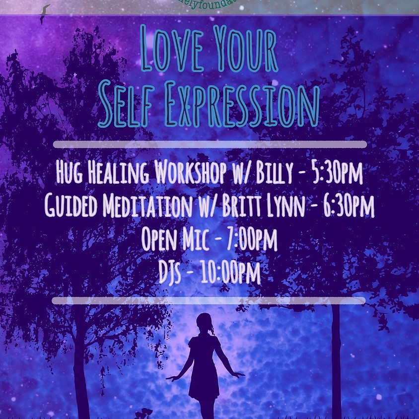 Love Your Self Expression Open Mic
