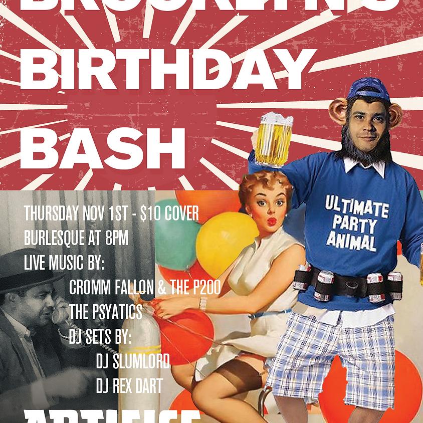 Brooklyn's Birthday Bash! Burlesque, Bands, DJ's!