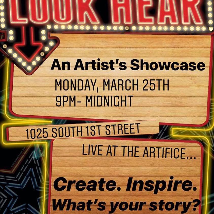 Look Hear: An Artist's Showcase