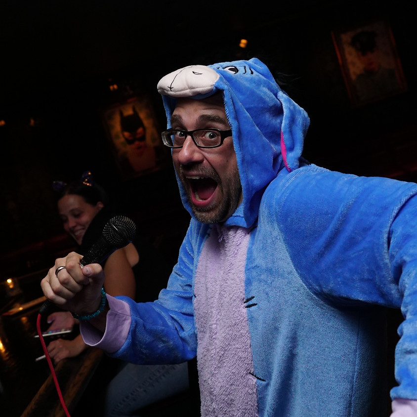 SCAREY-OKE at Artifice! Wednesday at 10pm!