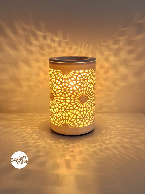 Electric Aroma Burner - Lace Cut