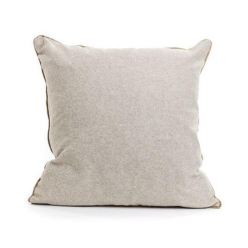 BOGOF Natural & Gold Piping Cushion