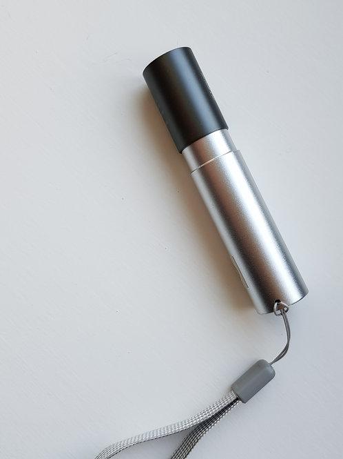 Mini USB Re-chargable LED Flashlight
