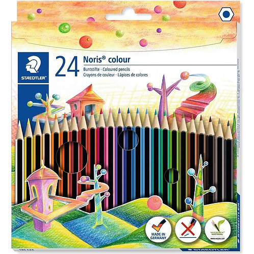 Staedtler C24 Noris Colour Colouring Pencil - Assorted Colours