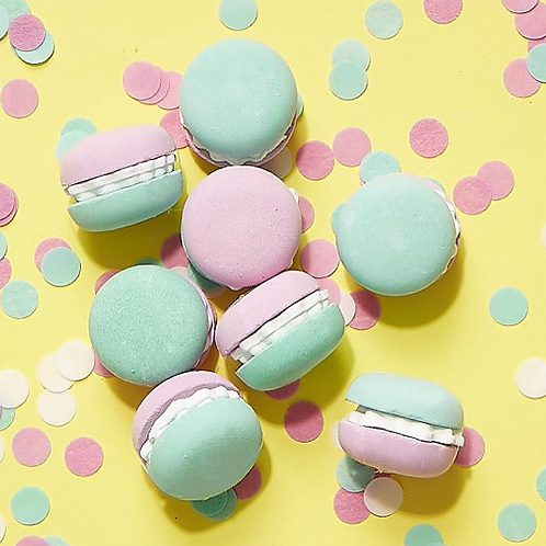 Confetea Macaron Bath Fizzers