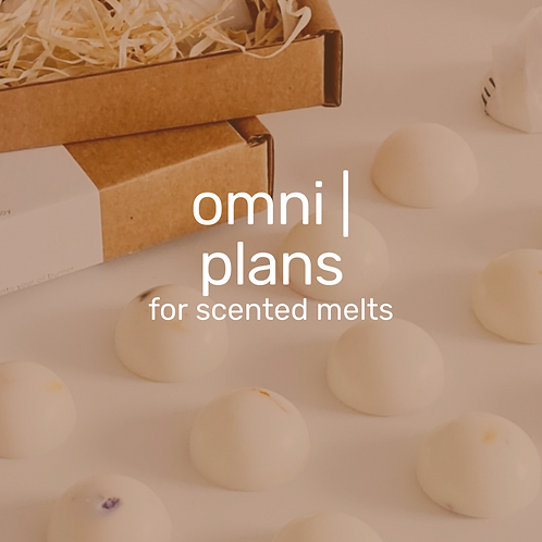 omni | melts plan - scented wax melts