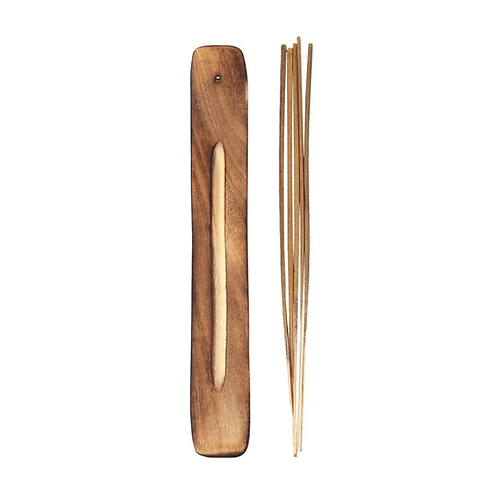 Karma Incense Sticks + Wood Burner - Vanilla