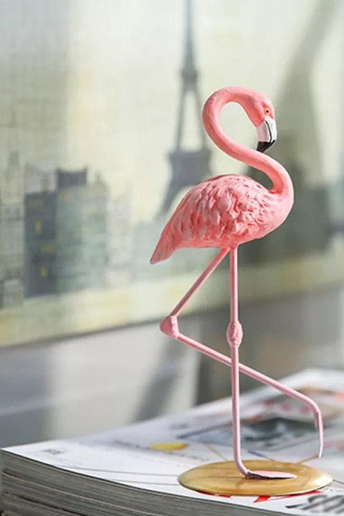 The Pink Flamingo Figure