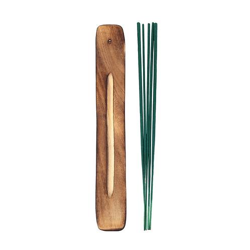 Karma Incense Sticks + Wood Burner - Jasmine