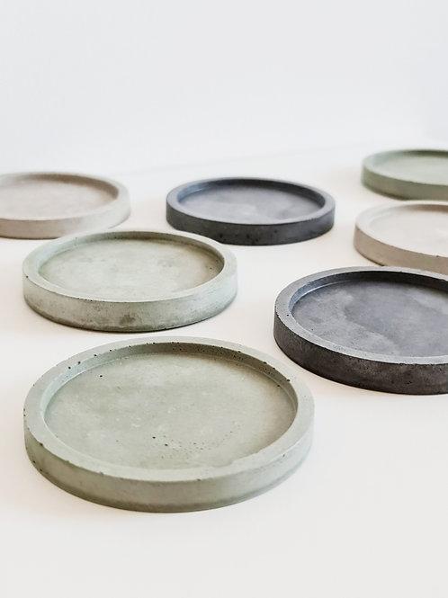 Innu Concrete Coasters - Sage