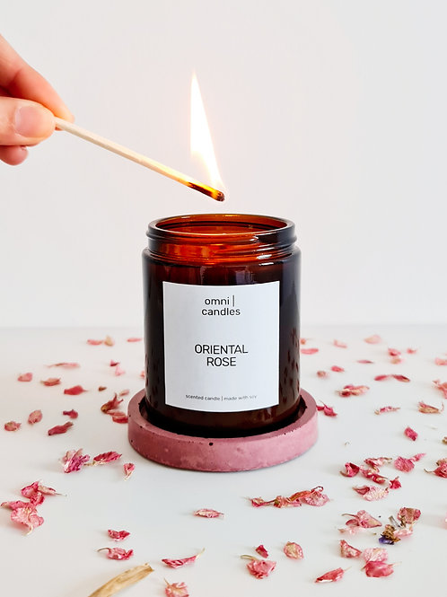 omni | candles - oriental rose