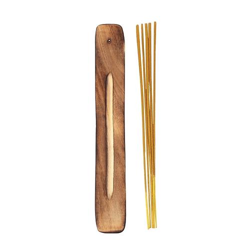 Karma Incense Sticks + Wood Burner - Sandalwood