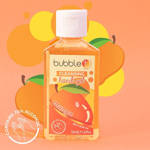 Mango Anti-Bacterial Cleansing Hand Gel - 70% Alcohol