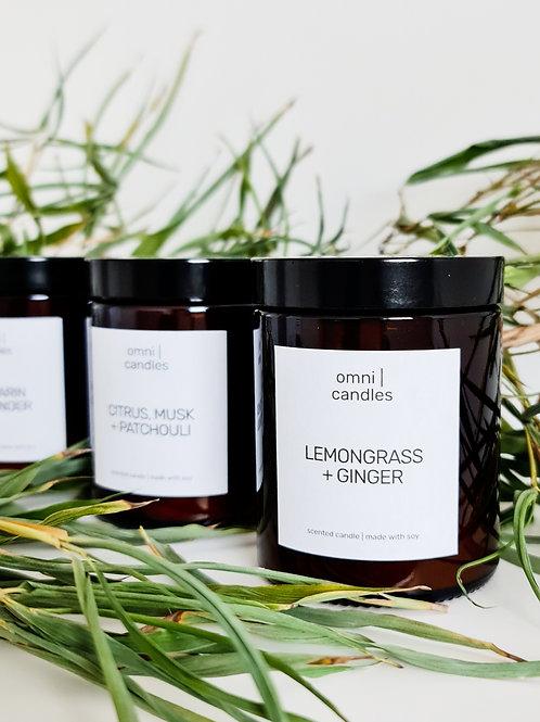 omni | candles - lemongrass + ginger
