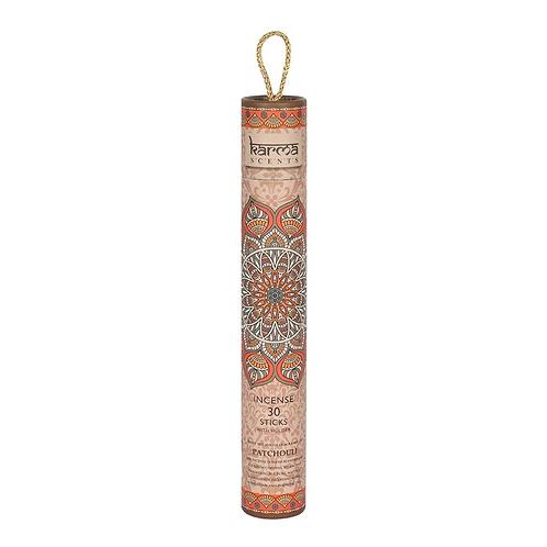 Karma Incense Sticks + Wood Burner - Patchouli