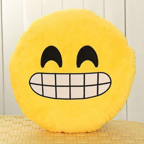 BOGOF Cheesy Grin Emoji Cushion