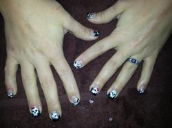 Gnarly Skull Wedding Nails