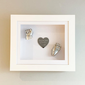 Standard single set with heart plaque
