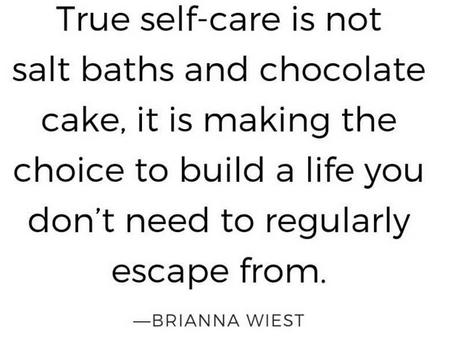 Self Care Sucks Sometimes