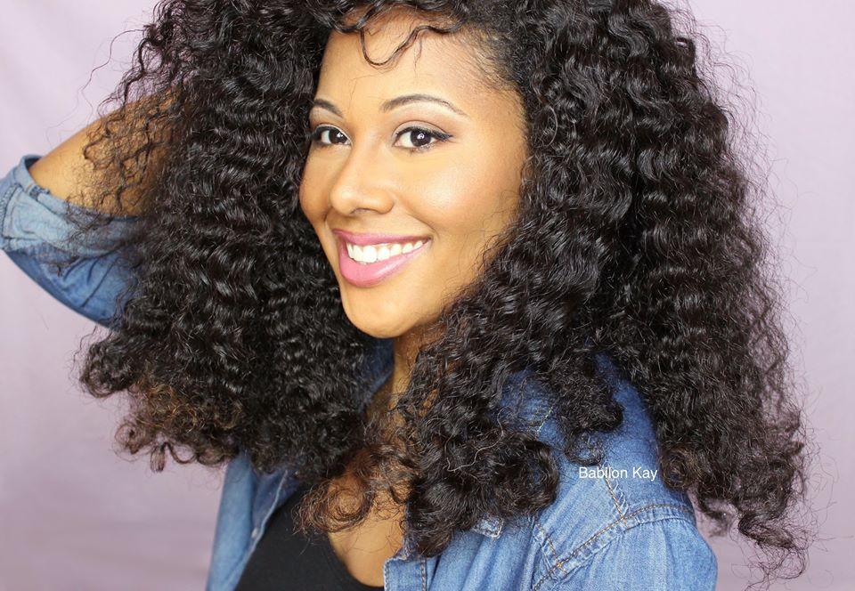 Babylone Kay coiffures cheveux défrisés