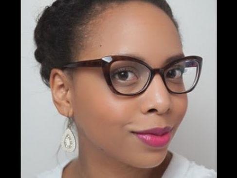 maquillage et lunette