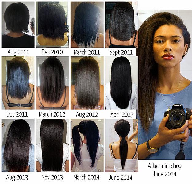 Freshlengths cheveux défrisés