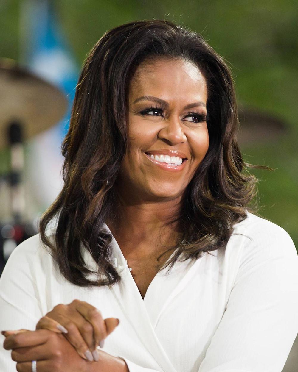Michelle Obama sur Beauté Défrisée
