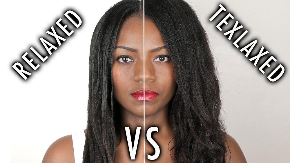 Healthy Afro Hair cheveux défrisés et cheveux assouplis