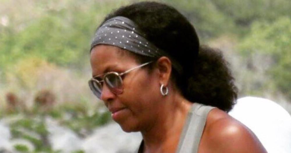 Retour au naturelle de Michelle Obama