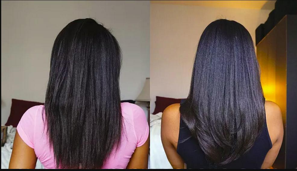 soin protéiné pour cheveux défrisés cassants