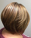 women's short brown bob haircut