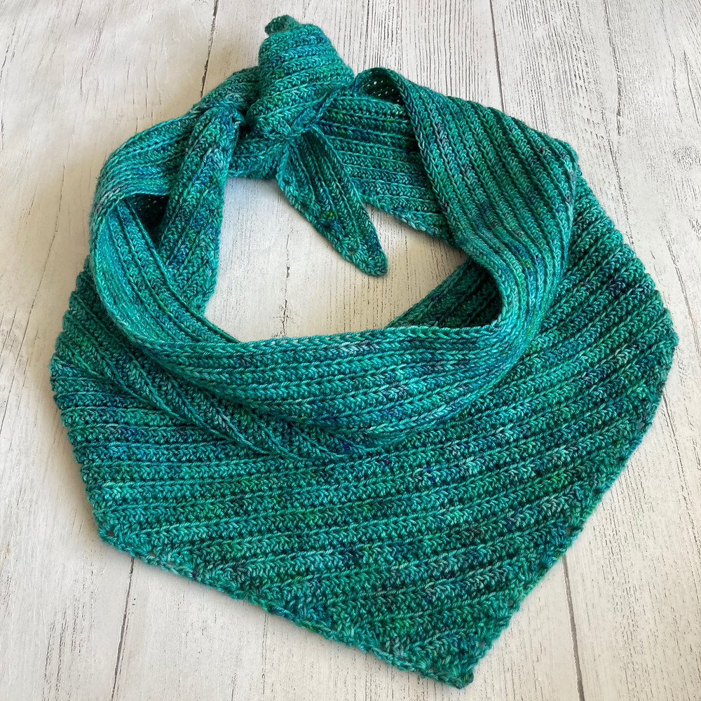 The Etto Scarf by Fiona Meade Crochet