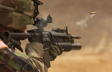 automatic-weapon-bullet-camouflage-close