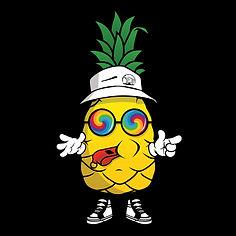 Pineapple Character Black.JPG