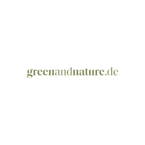 logo greenandnature.de design vomkiosk