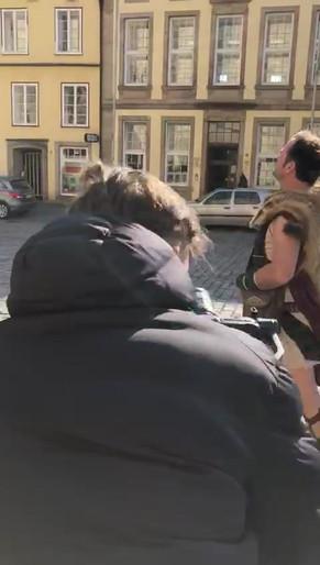 Der Römer in der Stadt