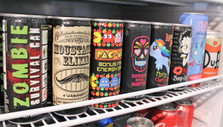 Themed Energy Drinks
