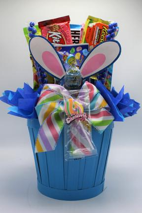 Blue Bunny Ear Basket