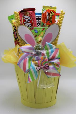 Yellow Bunny Ear Basket