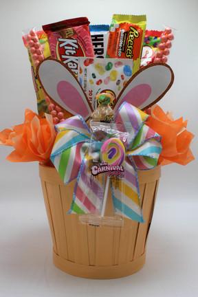 Orange Bunny Ear Basket