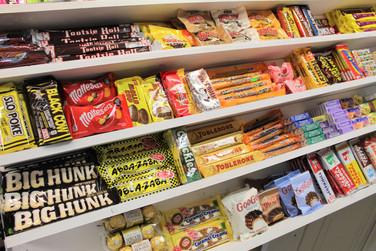Nostalgic Candy Bars