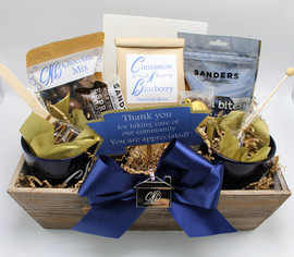 Coffee and Chocolate Gift Basket