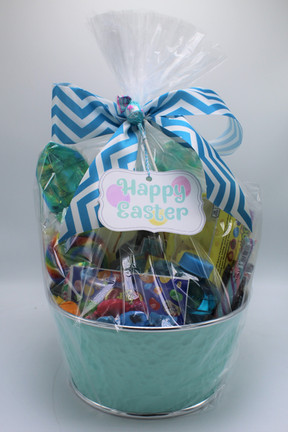 Blue Classic Easter Basket